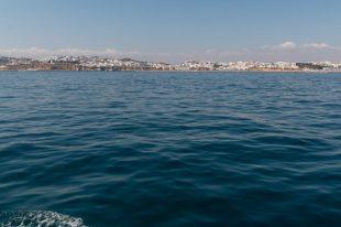 Calm clear ocean