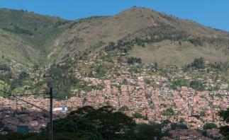 Slums of Medellin