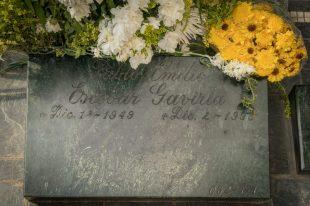 Pablo Escobars grave