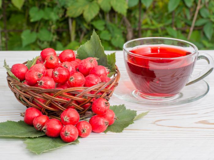 fructe de paducel, paducel ceai, ceai rosu,