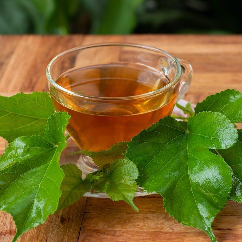 ceai din frunze