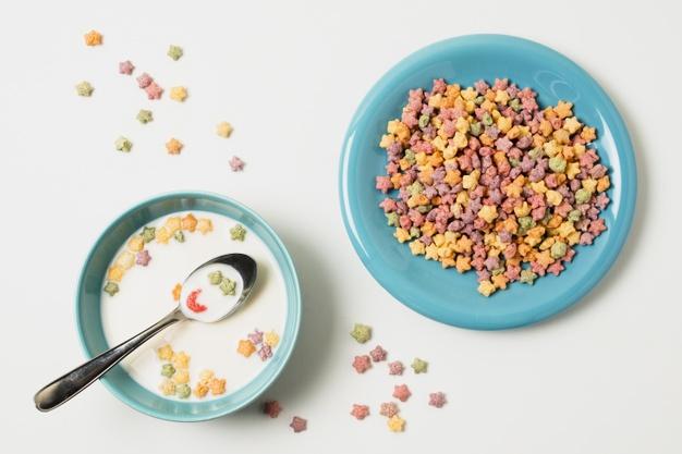 combinatii nesanatoase, cereale cu lapte,