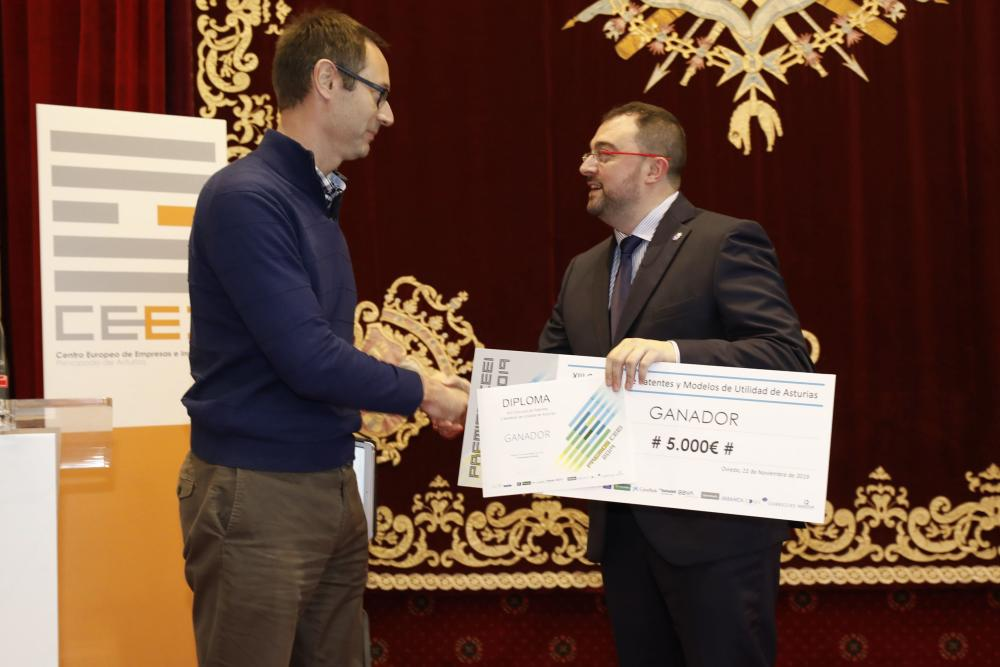 Our first recognition: Sunthaly's patent was the winner of the CEEI Asturias 2019 Awards