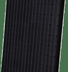 270-275 Watt sort monokrystallinske solcellepaneler