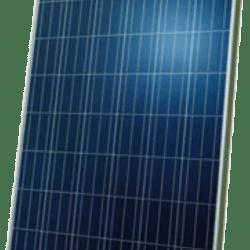250-255 Watt blå polykrystallinske solcellepaneler