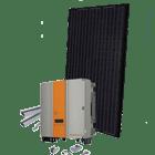 Sort monokrystallinsk 2.5 kwp solcelleanlæg