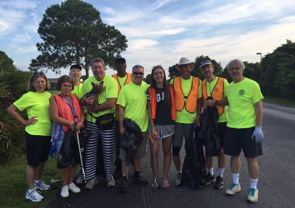 Suntree Rotary Road Cleanups