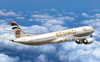 Etihad Flight