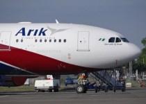 Arik Air Flight and Method of Booking