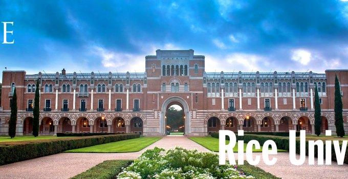 rice university ranking