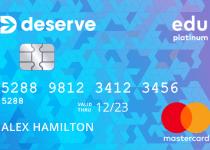 Deserve EDU Credit Card