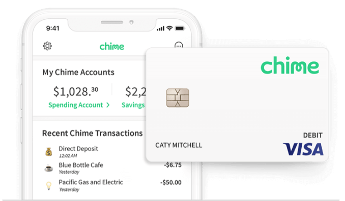 Chime Spending Account as International Travel card