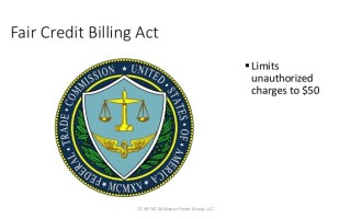 What Fair Credit Billing Act (FCBA) Billing Error Covers