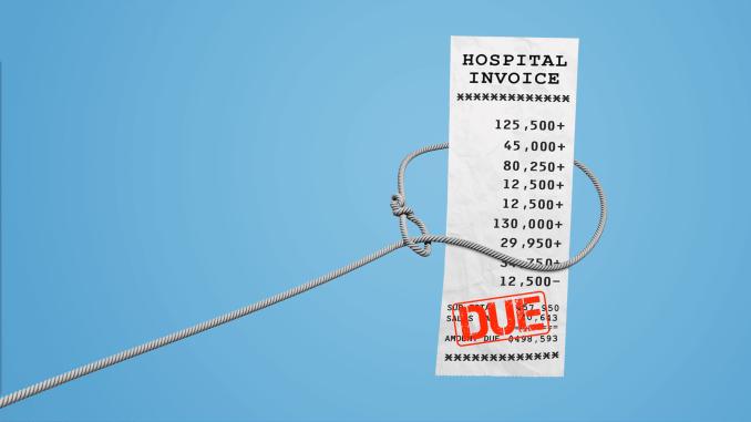 medical debt on report?