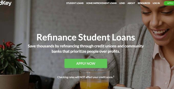 LendKey student refinance