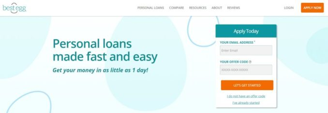 Best Egg Personal Loan:Eligibility Criteria
