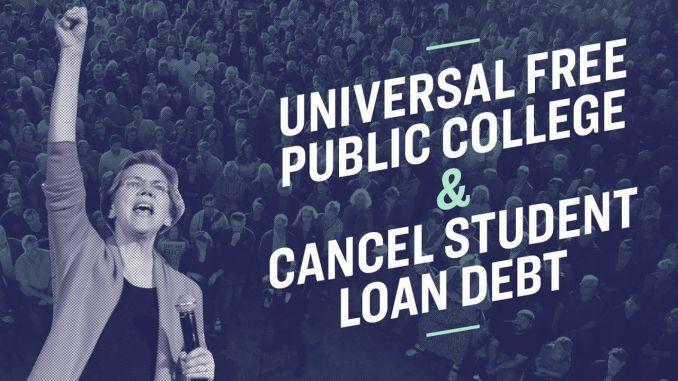 Elizabeth Warren's Student Debt Plan 2020