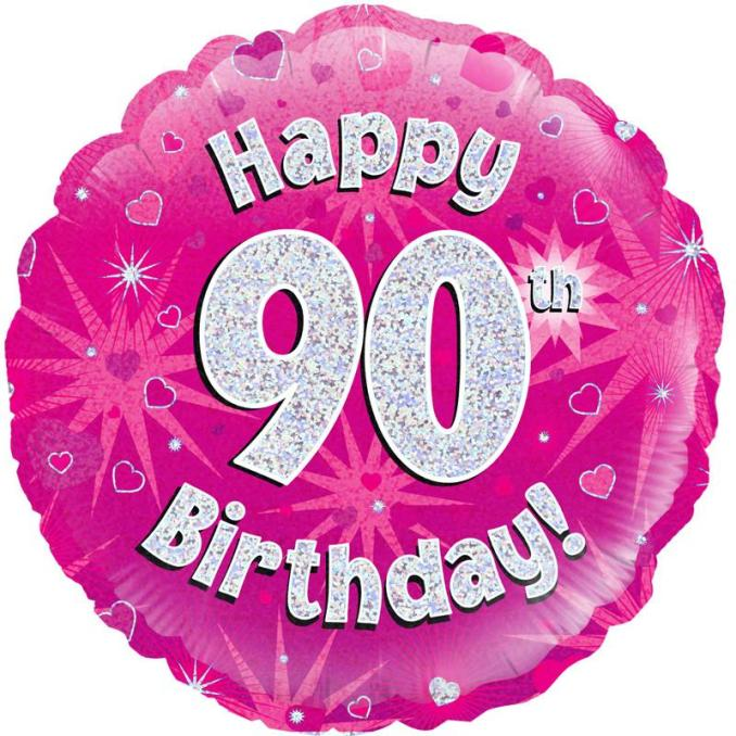 Hope your 90's to be as awesome as your last 10 years!