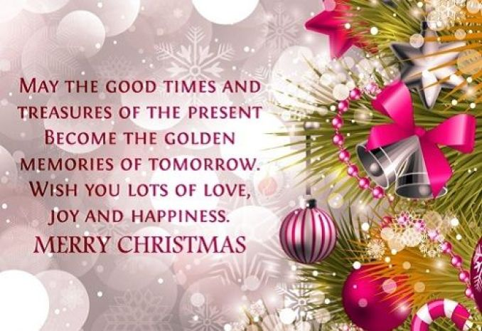 May the good times and treasures of the present become the golden memories of tomorrow. Wishing you lots of love, joy, and happiness. Happy Holidays!
