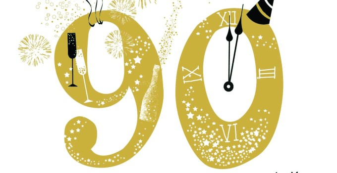 65 Great 90th Birthday Sayings: