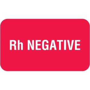 Rh-Negative Blood Type Personality Traits:summary