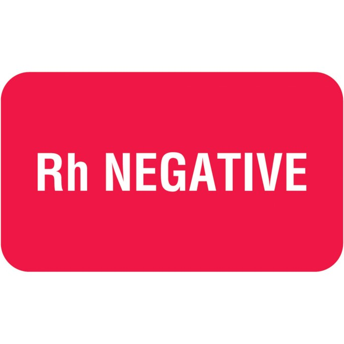 Rh-Negative Blood Type Personality Traits: summary