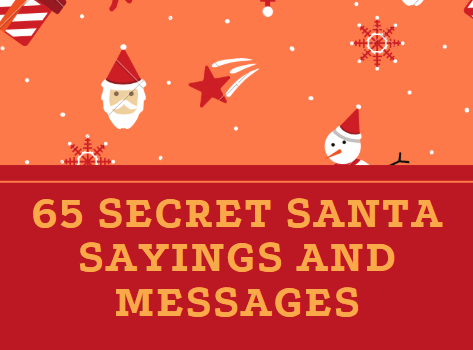 Secret Santa Sayings and Messages: