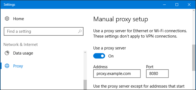 Disable proxy for Chrome on Mac