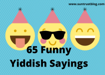 funny yiddish sayings