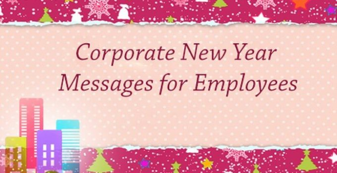 New Year Messages to Employees: