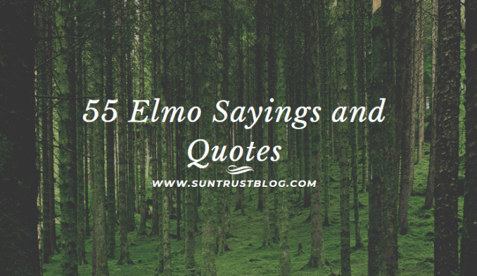 Elmo Sayings and Quotes