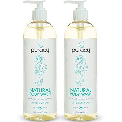 10. Puracy Natural Body Wash