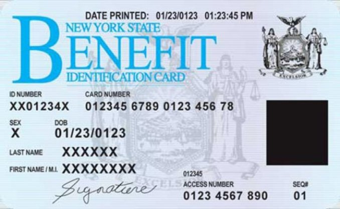 Using your EBT card