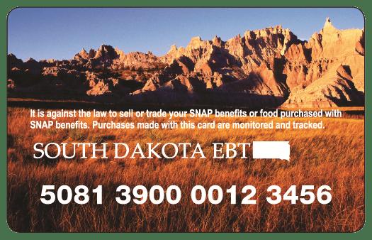 South Dakota EBT Card Balance