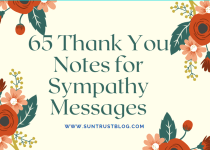Thank You Notes for Sympathy Messages