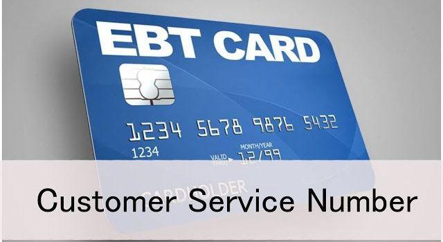 EBT Customer Service Numbers