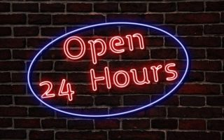 Stores That Are Open Or Available Around Me for 24 Hours