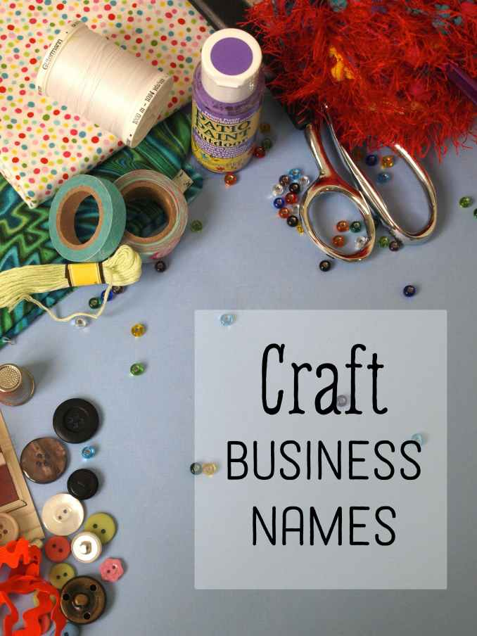Creative Craft Business Names