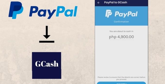 PayPal Balance to GCash