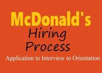 McDonald's Hiring Process