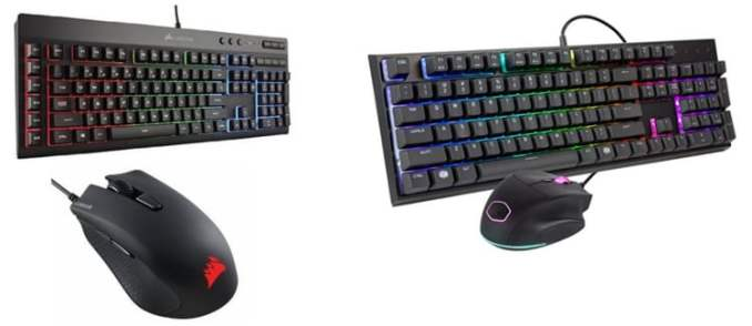 CHONCHOW RGB Gaming Keyboard And Mouse Combo