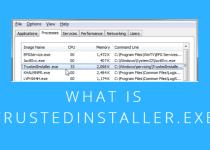 What is the TrustedInstaller Error Message