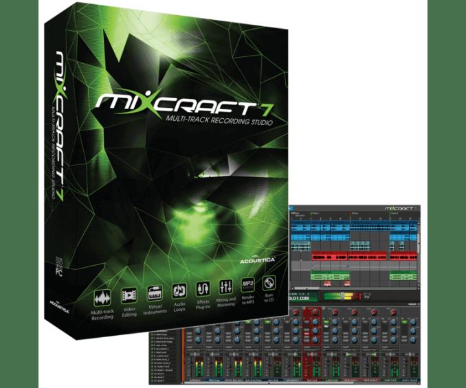 Mixcraft 8 Home