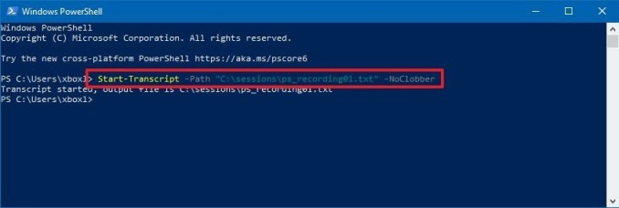 Use The Windows PowerShell