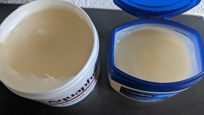 Vaseline or Aquaphor