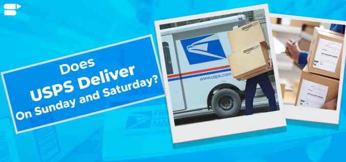 7. USPS Saturday Delivery