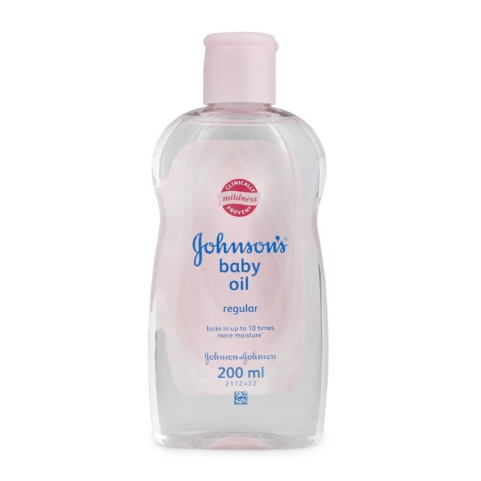 Baby Oil Made From Mineral Oil