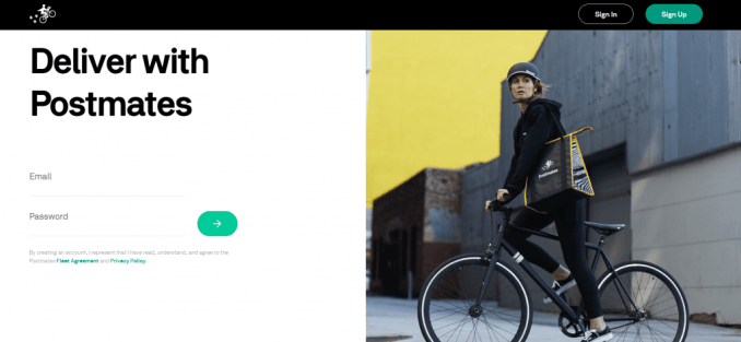 How to Apply and Start Delivering for Postmates