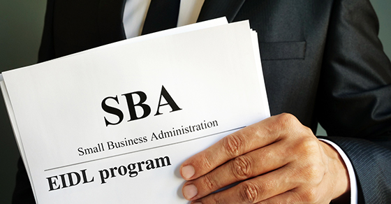 Small Business Administration EIDL Loans