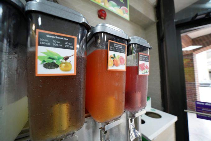 subway drinks